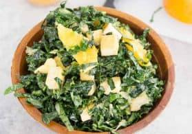Kale Salad Recipe with Citrus and Avocado