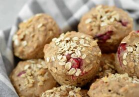 Oatmeal Cranberry Muffins