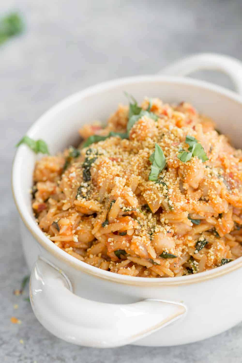 one pot orzo pasta