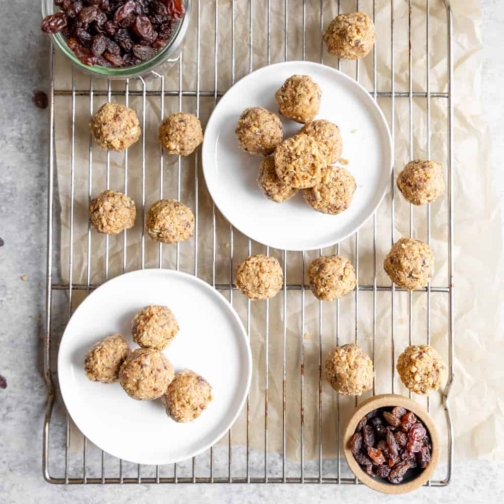 nut free granola bites