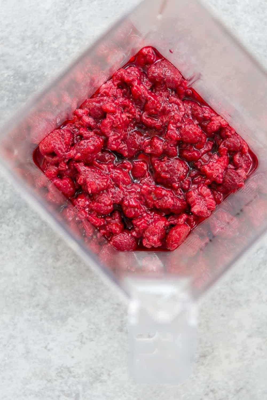 frozen berry chia jam