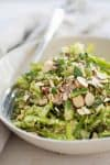 Shaved Asparagus Spring Salad! Perfect for showers, brunch, Easter and more. Vegan. | delishknowledge.com