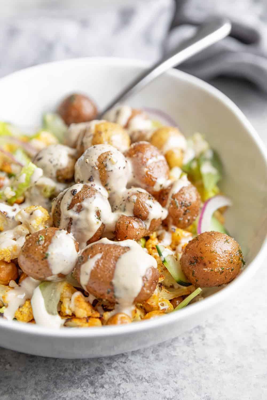 Meal Prep Shawarma Bowl