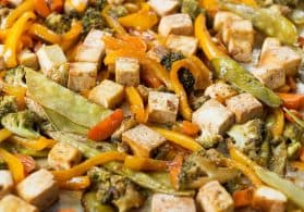 Sheet Pan Vegetable Stir Fry
