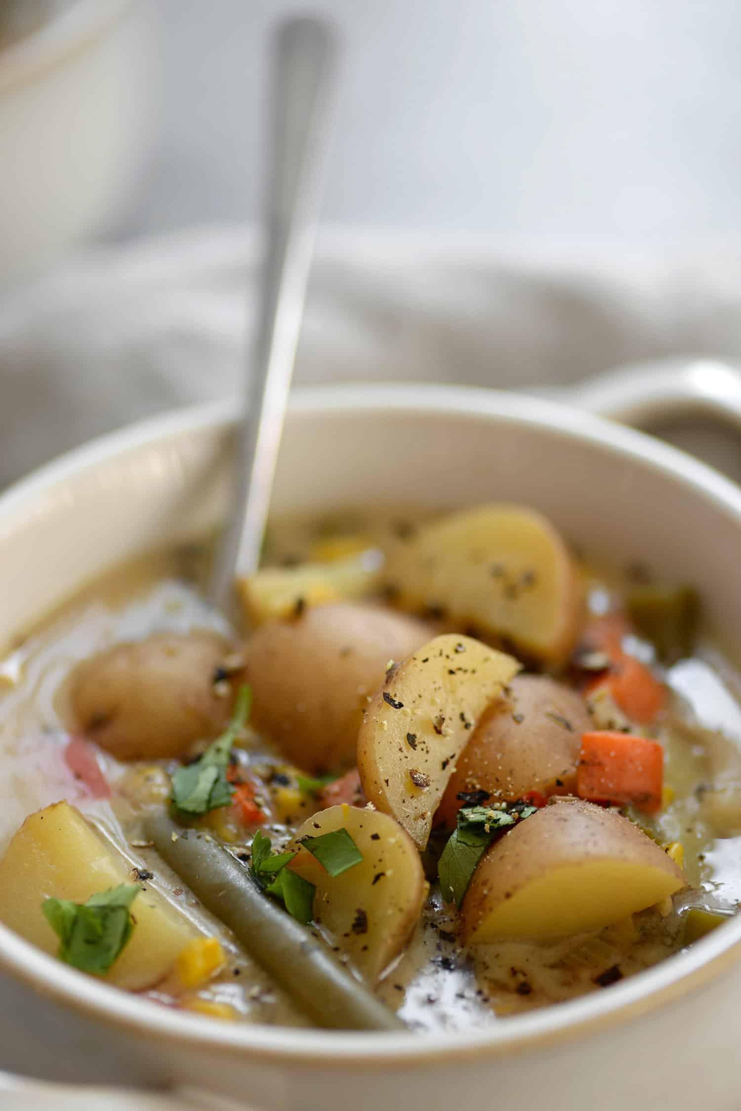 vegetable chowder slow cooker