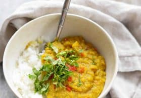 Spicy Red Lentils and Rice