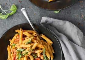 Spicy Tomato Penne Pasta