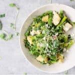 Spring Panzanella Salad with Asparagus