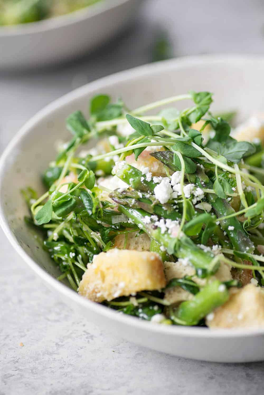 vegetarian asparagus salad