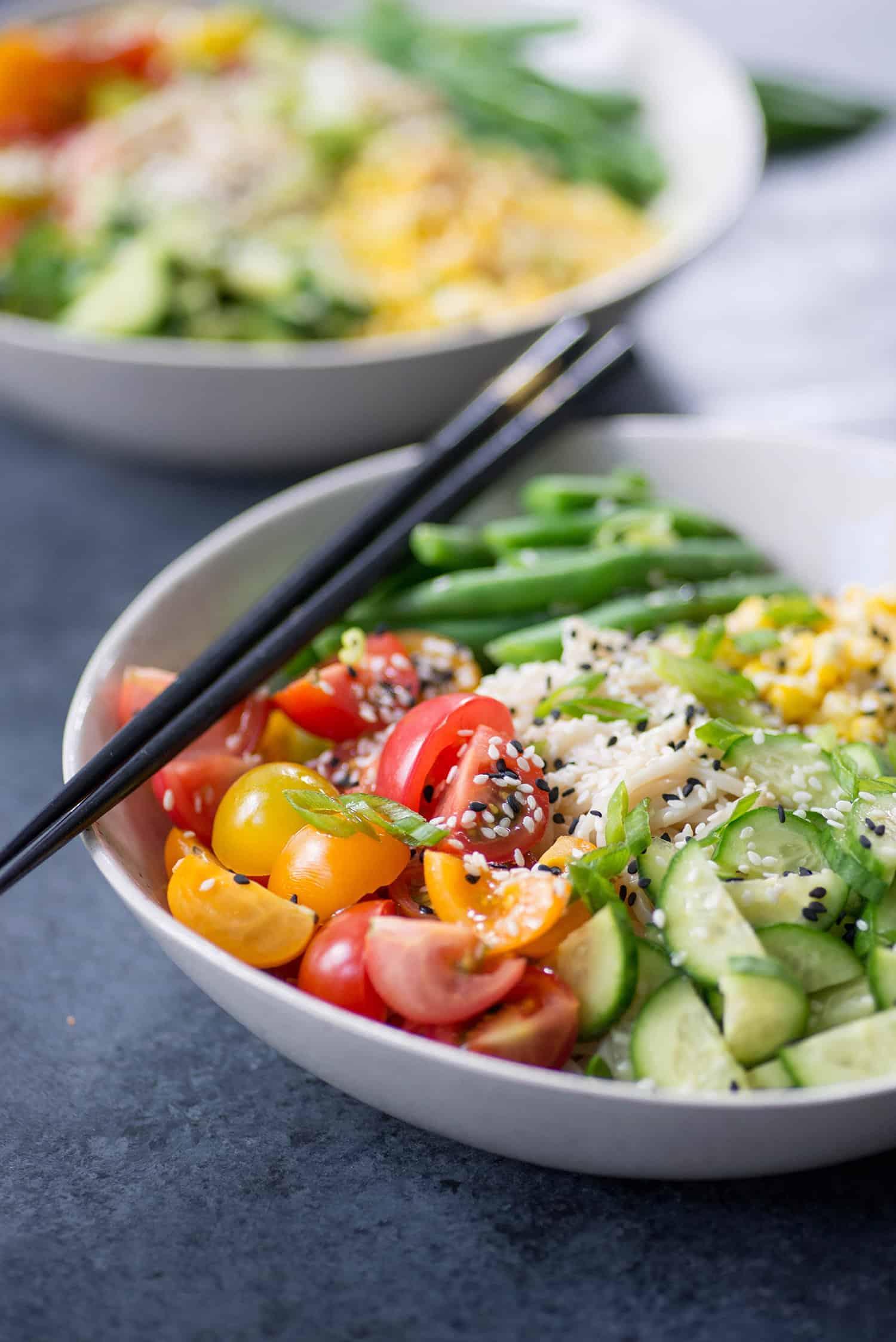 Summer Ramen Noodle Salad