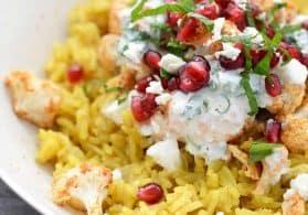 Vegetarian Tandoori Cauliflower Bowl