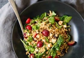 Sweet Cherry and Farro Salad