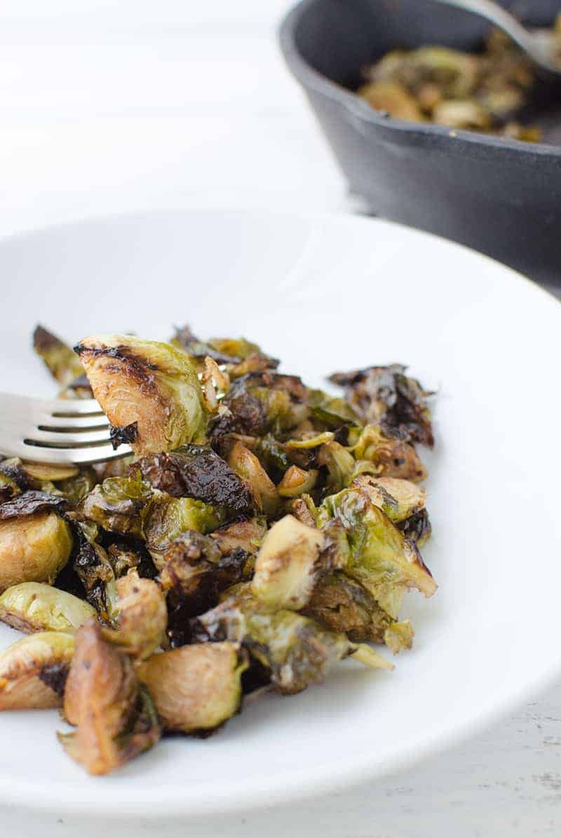Thanksgiving on a budget! Healthy tips and a recipe for Balsamic Roasted Brussels Sprouts!
