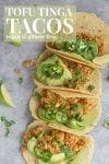 tofu tinga tacos