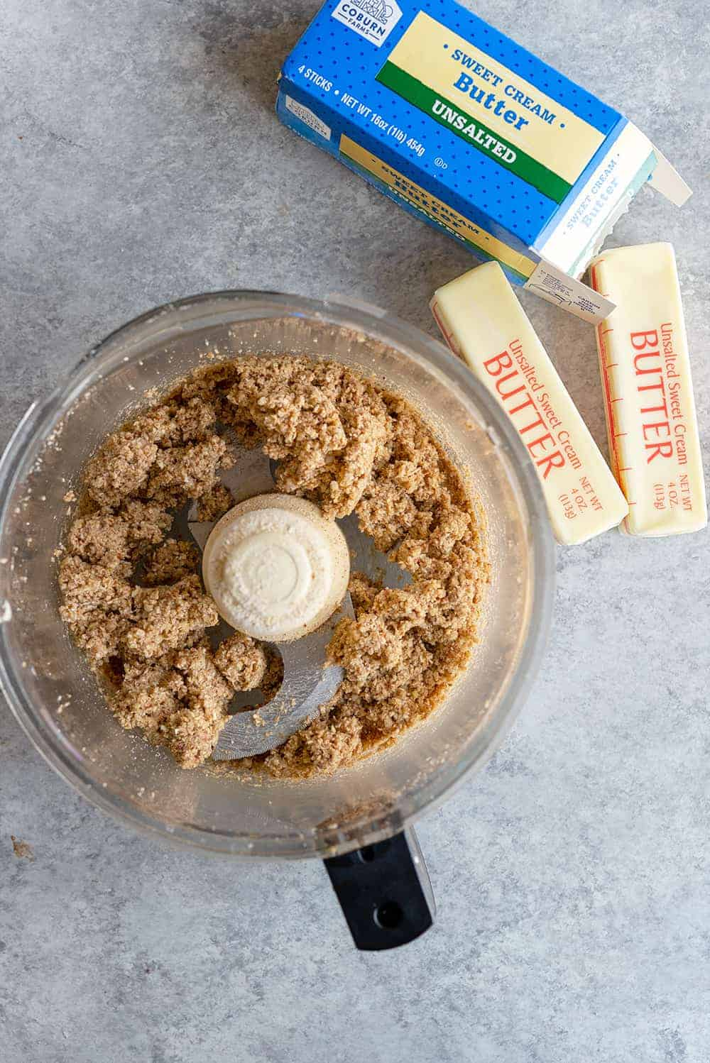 oat crumble for twice baked sweet potatoes