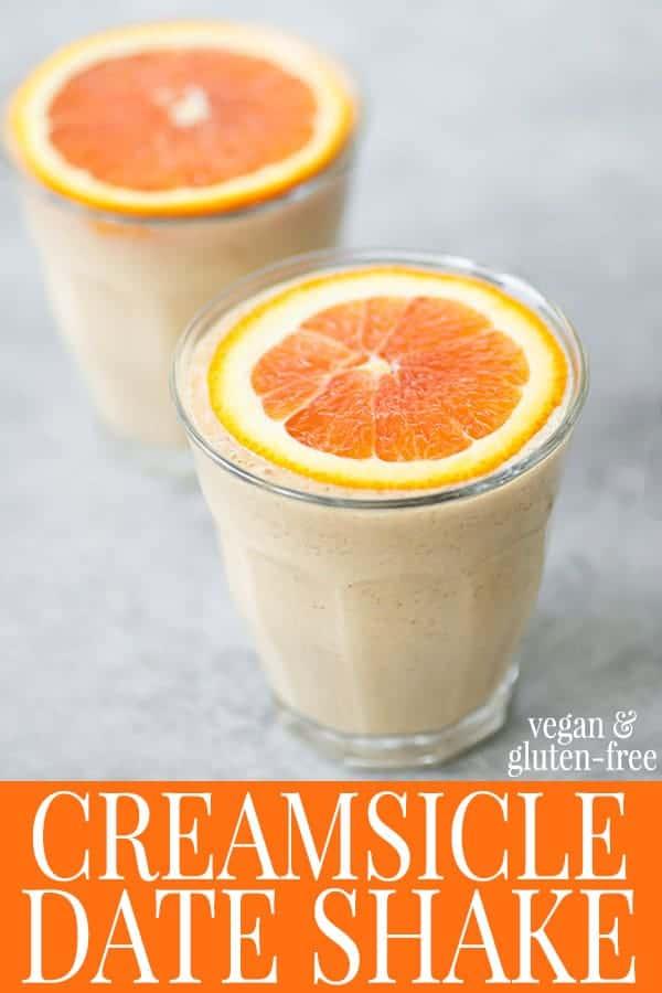 creamsicle date shake