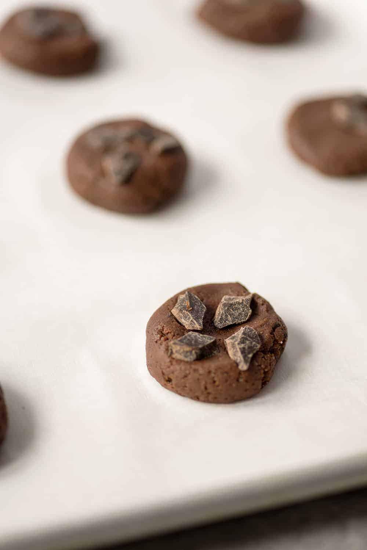 vegan chocolate cookie dough