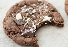 Vegan Chocolate Peppermint Cookies