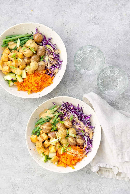 Vegan Gado Gado Bowls