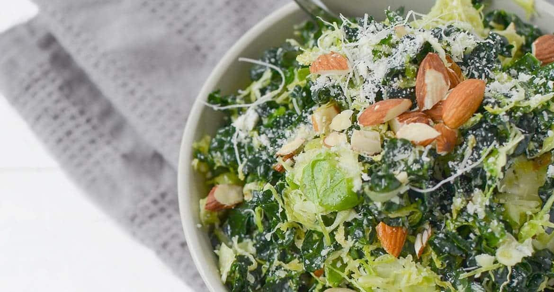 Vegetarian Shredded Brussels Sprout Salad4leaderboard