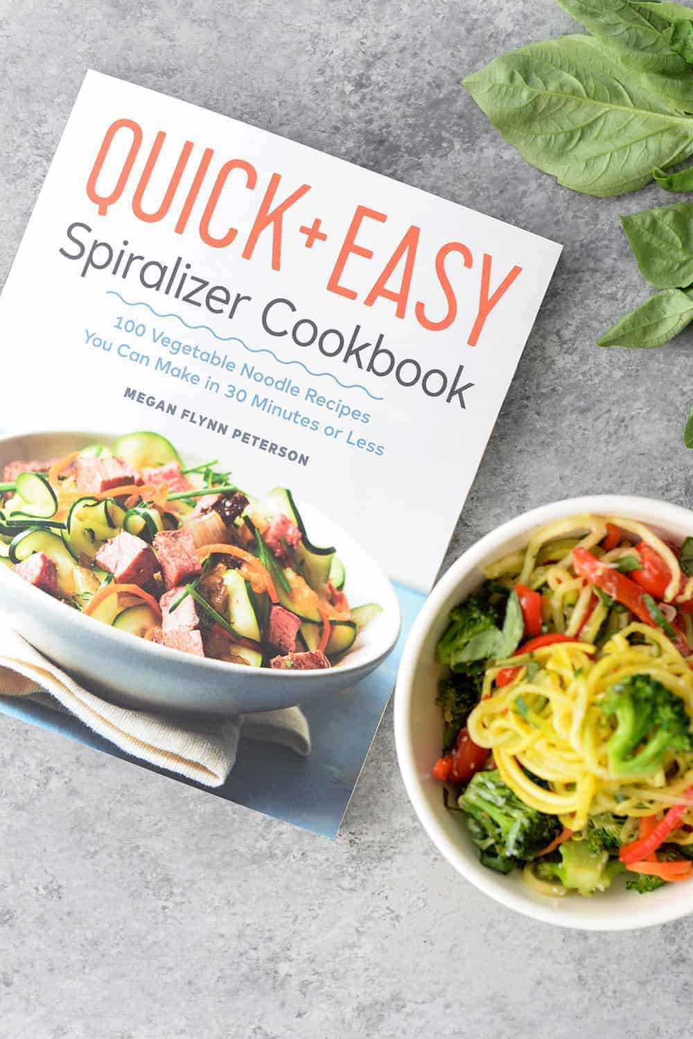 quick and easy spiralizer cookbook