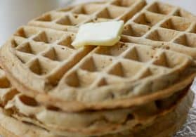 How to Make Homemade Frozen Waffles