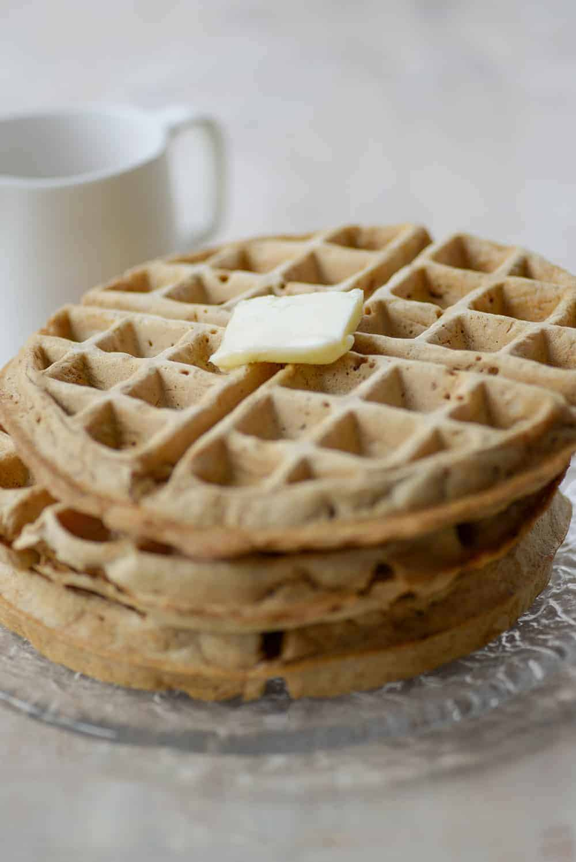 whole wheat freezer waffles