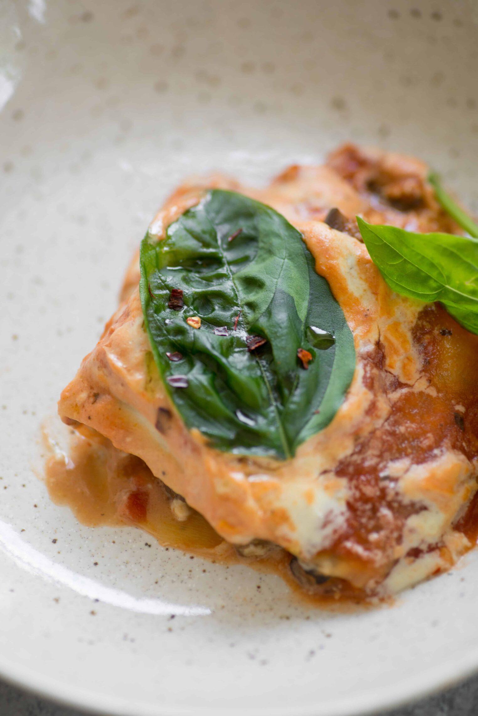 glutenfree vegan zucchini lasagna