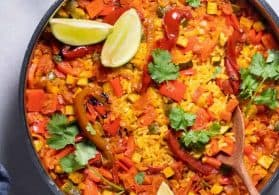 A Very Vegan Paella + Video