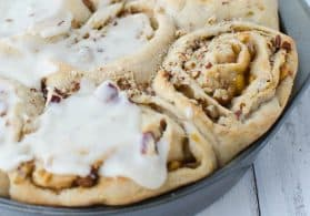 Vegan Apple Pie Cinnamon Rolls