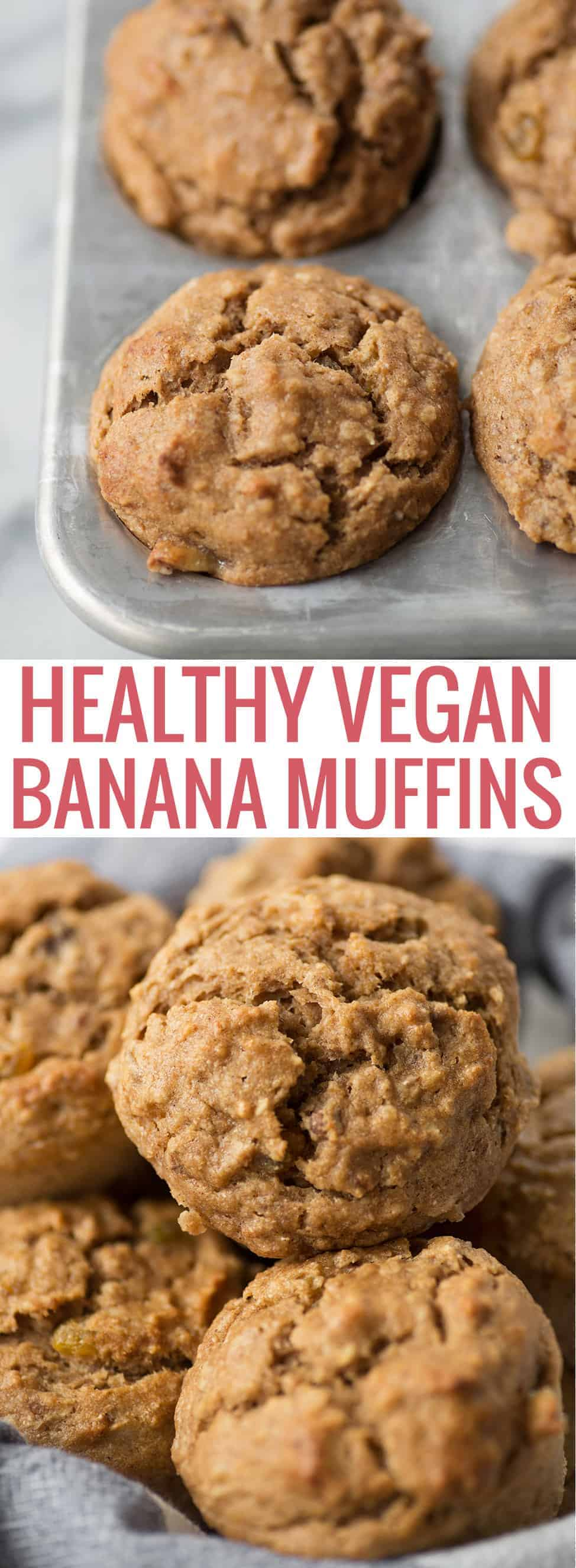 healthy vegan breakfast muffins