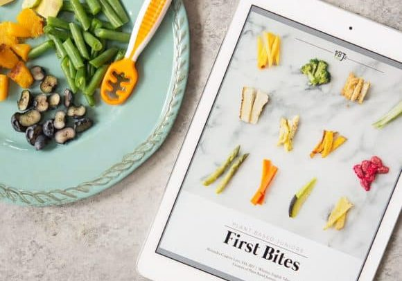 baby-led weaning for plant-based juniors
