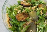 arugula, white bean and roasted potato salad