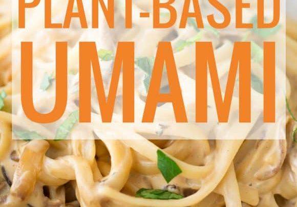 plant-based umami
