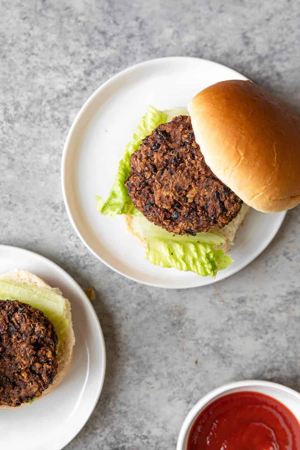 healthy black bean sliders