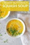 creamy butternut squash slow cooker soup