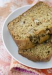 Carrot Cake Banana Bread! This vegan bread option is perfect for Spring and Easter! Low-fat, perfect for breakfast or dessert | www.delishknowledge.com
