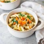 vegan chicken noodle soup
