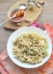 Curried Pasta and Bean salad! Pasta salad with garbanzo beans, celery, and a creamy curry-chutney dressing. #vegan | www.delishknowledge.com