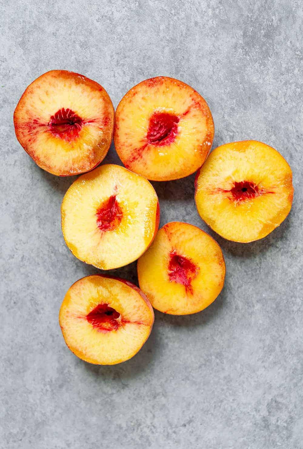 easy peach crisp for two