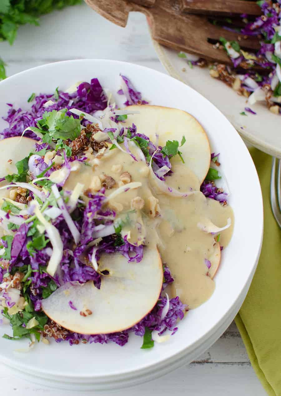 Pork Tenderloin With Apple Jicama Slaw Recipes — Dishmaps