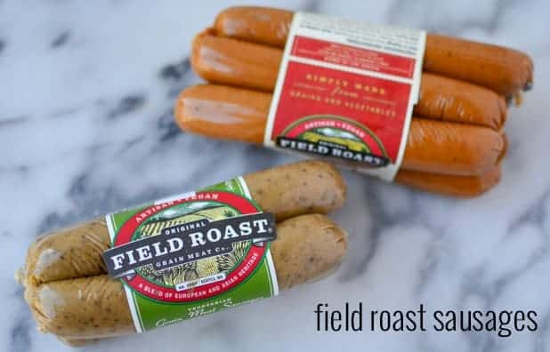 Monthly food finds from Delicious-Knowledge. This month: Field Roast Sausages, ISA DOES IT cookbook, coconut baking spread