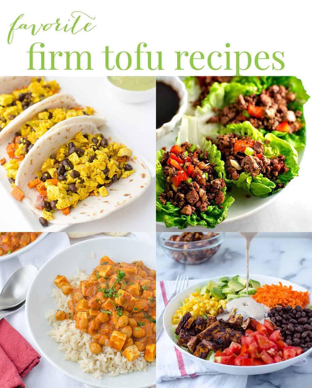 favorite firm tofu recipes