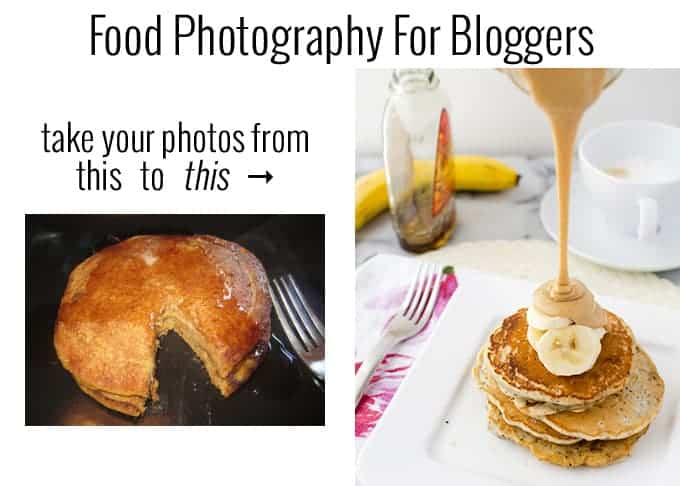 Take BETTER photos! It is possible! Recommendations and resources to upgrade your food photos- essential for food bloggers!