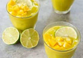 Frozen Mango Mojito