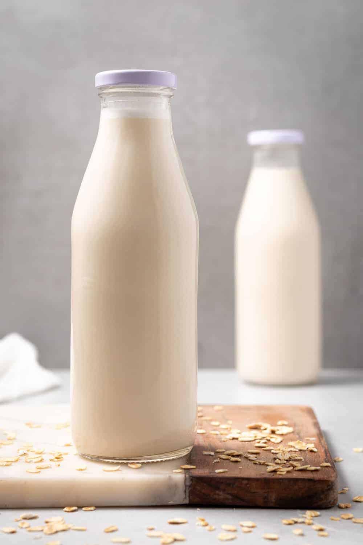 homemade oat milks