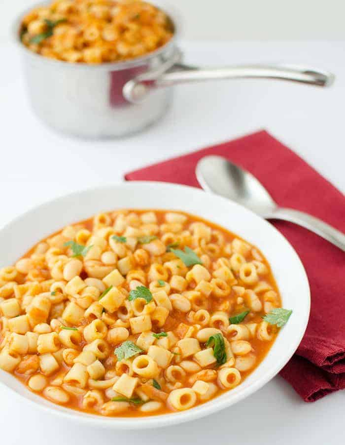 Serve yourself some big servings of this delicious healthy pasta dish!