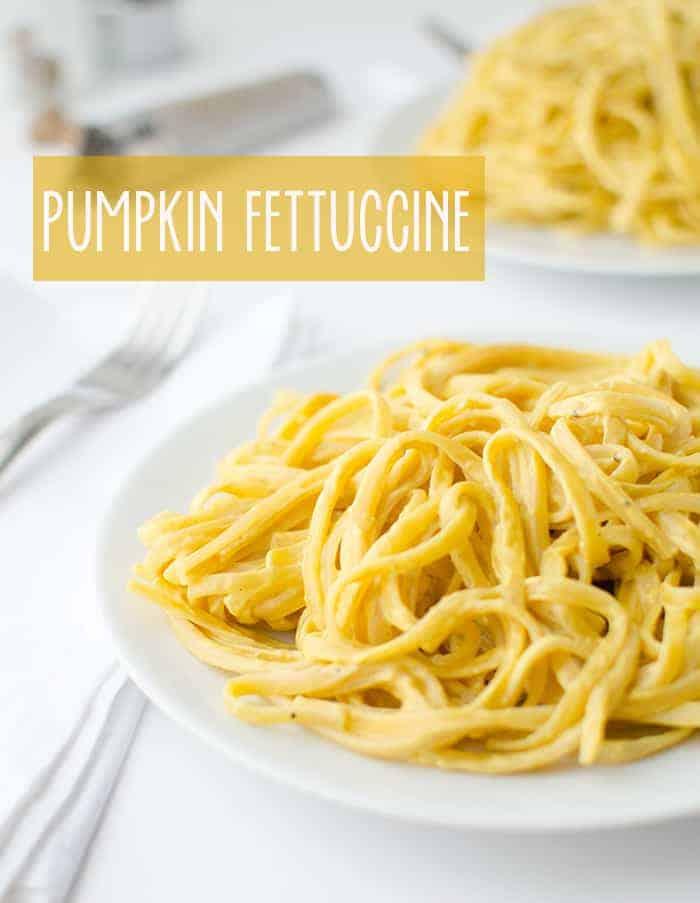 Pumpkin Fettuccine Alfredo - Delicious Knowledge