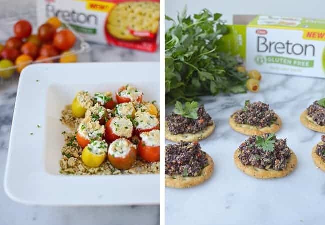 Quick and Easy Gluten-free Appetizers, perfect for summer entertaining