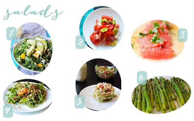 gluten free and vegan salad ideas for mother's day brunch